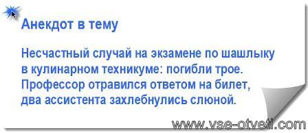анекдот про шашлык_anekdot pro shashlik
