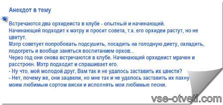 анекдот про орхидею_anekdot pro orxideyu