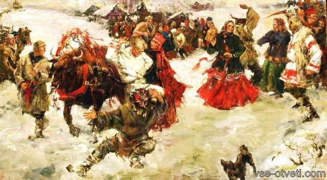 масленица история_maslenitsa istoria